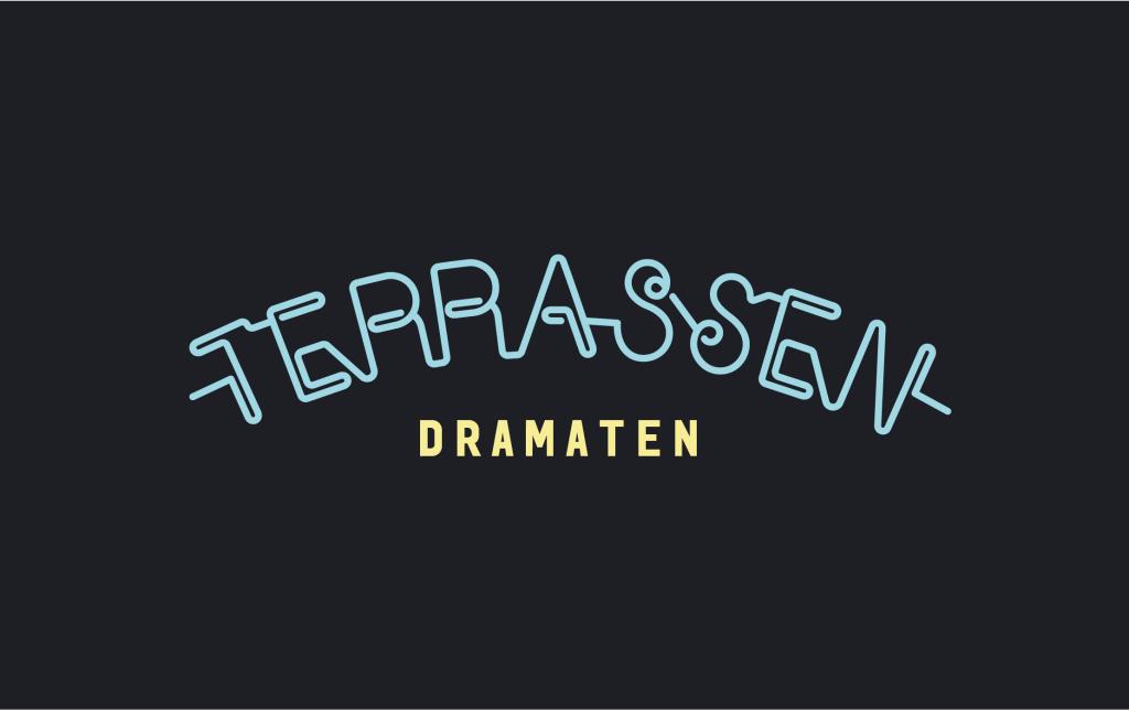 Dramaten logo svart PNG